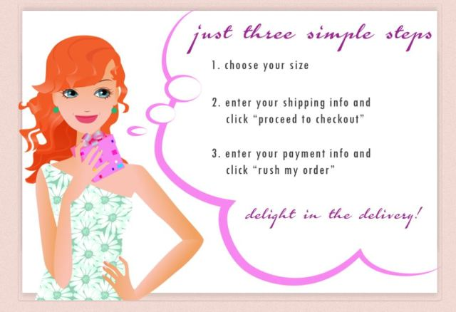 um cheeky simple steps to order