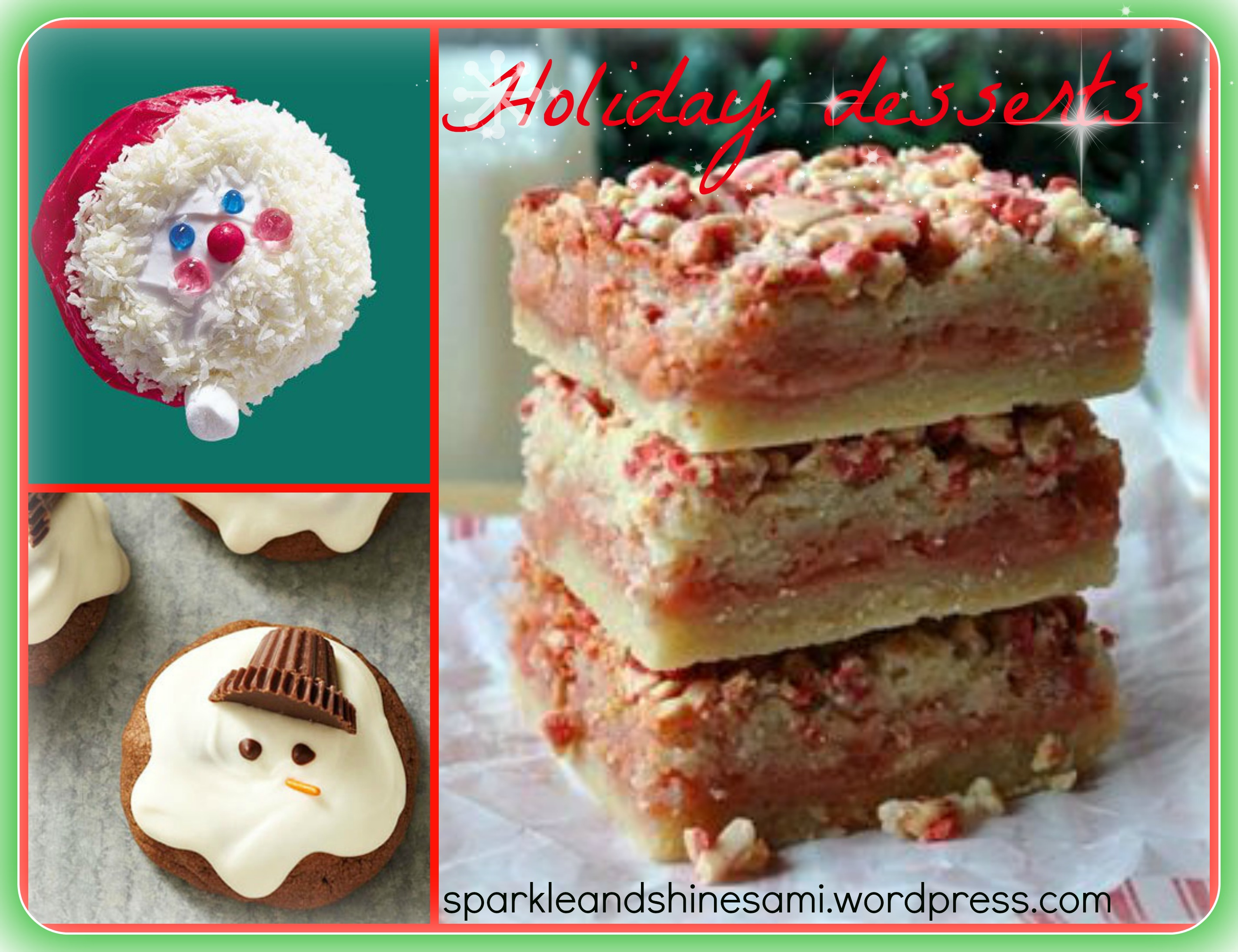 pinterest christmas desserts | Sparkle and Shine