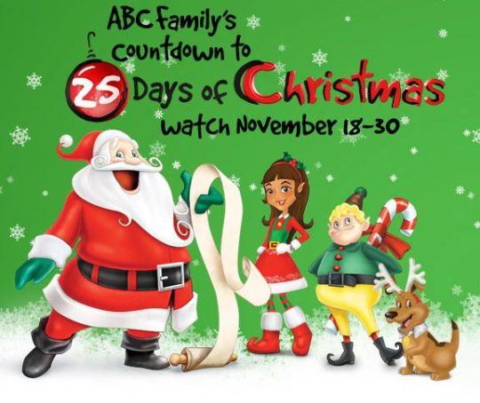 countdowsn to 25 days of christmas