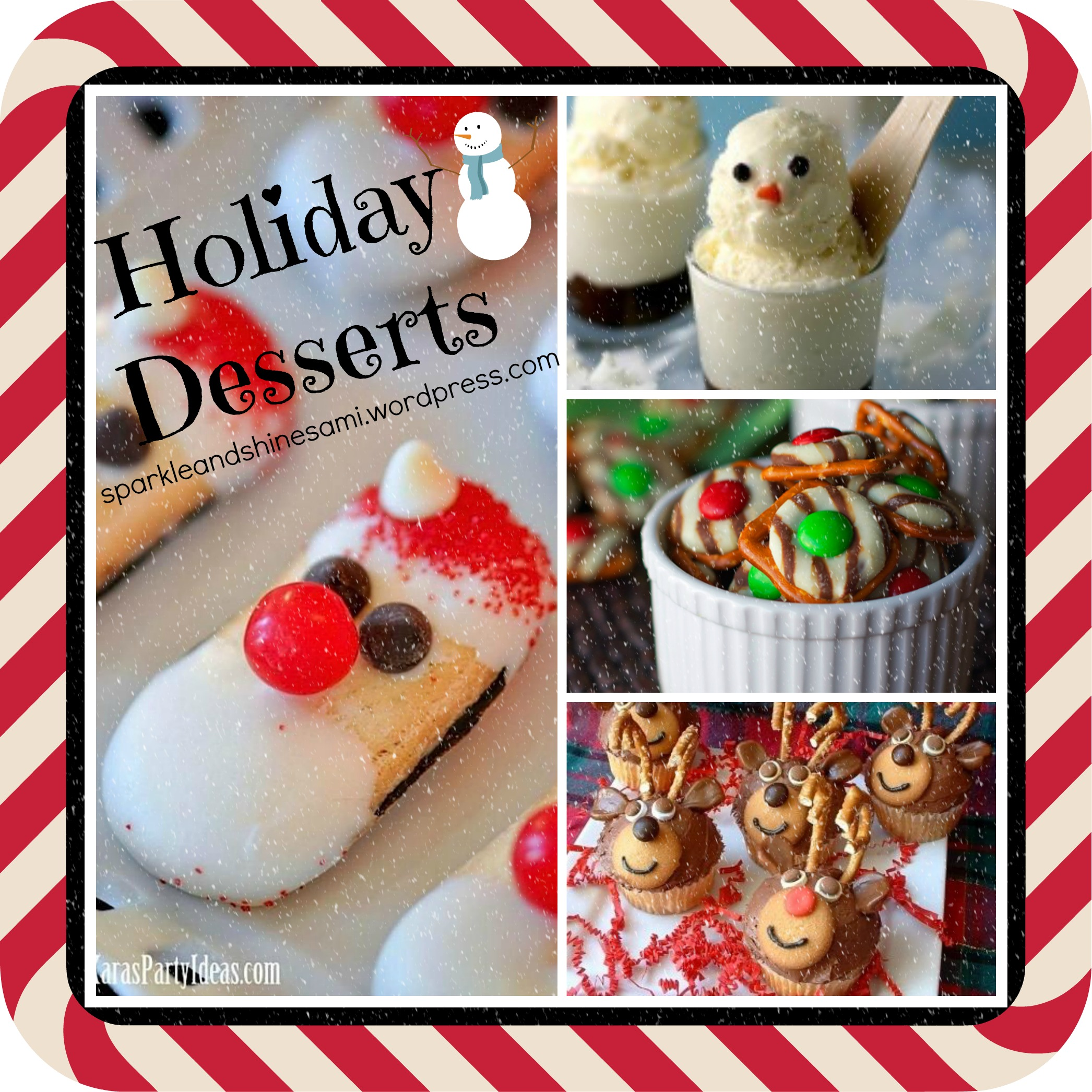 Pinterest Christmas Dessert Ideas Sparkle And Shine
