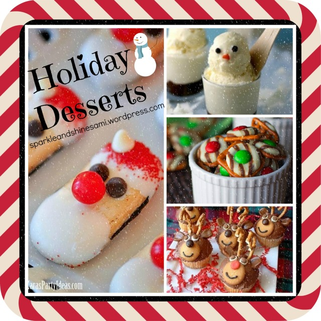 Christmas dessert ideas sparkle and shine for Pics of christmas desserts