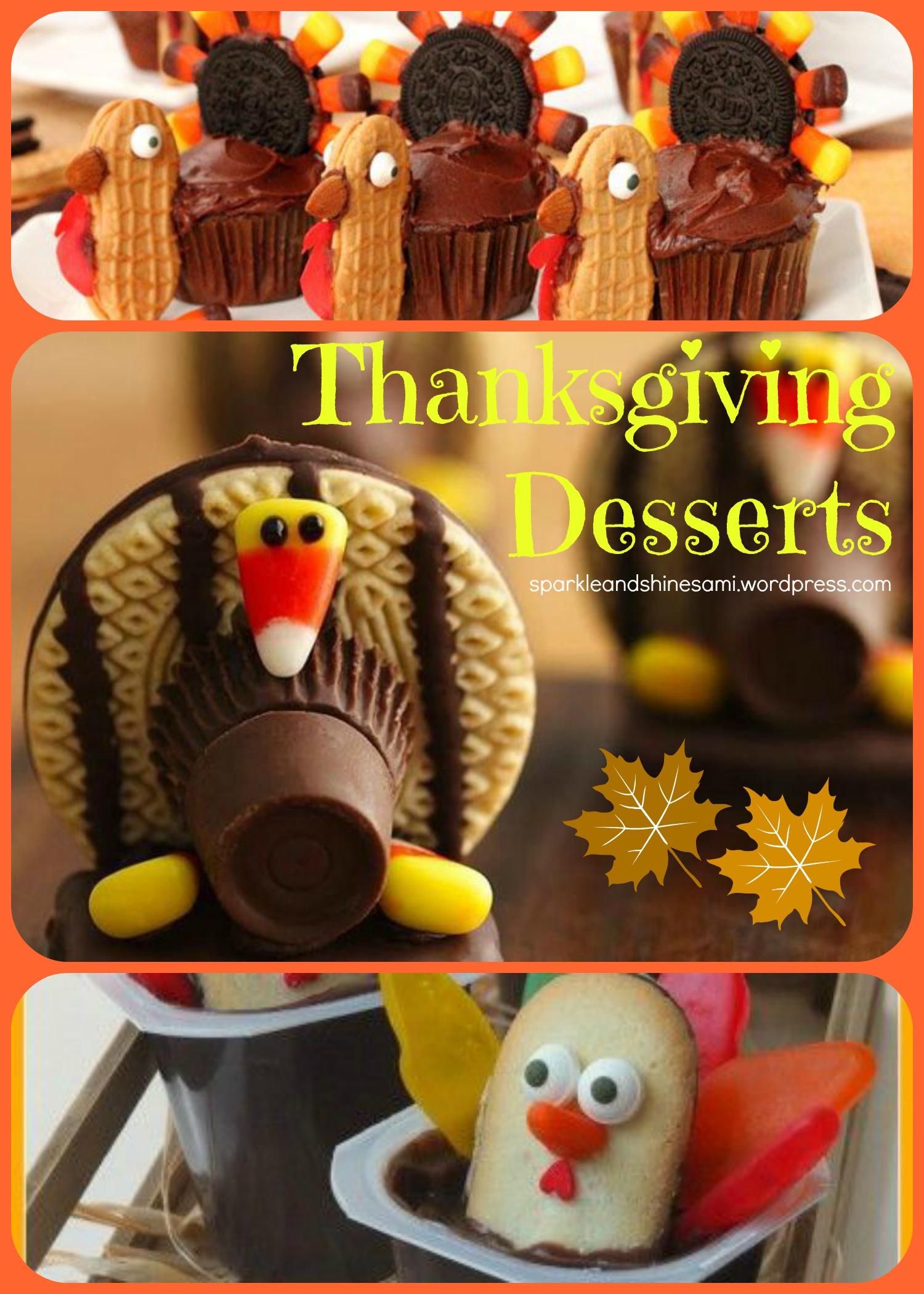 Desserts For Thanksgiving Pinterest Thanksgiving Dessert
