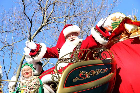 santa clause macys parade