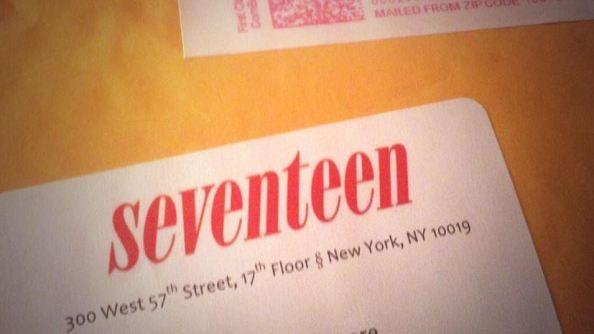 17 envelope