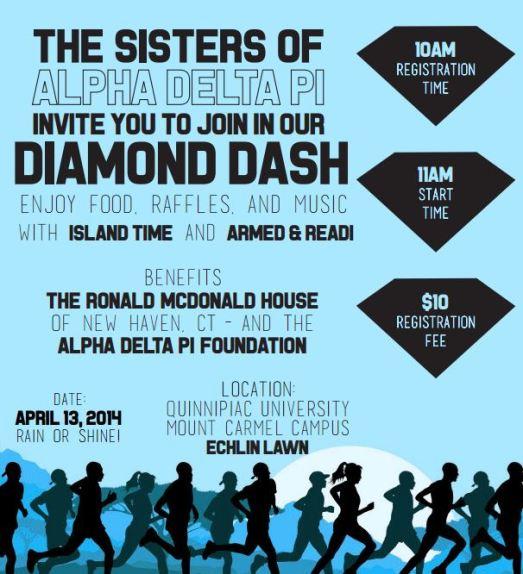 diamond dash flyer