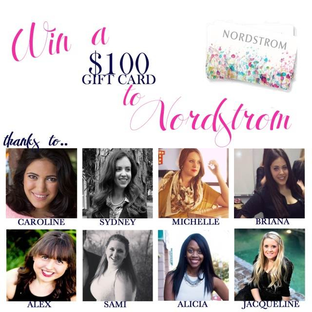 TCD nordstrom giveaway
