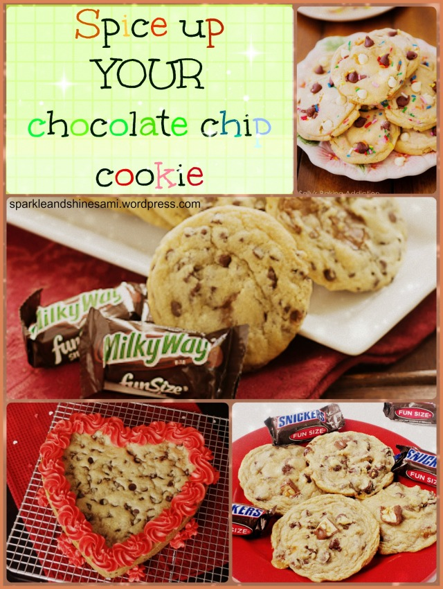 spice up your chocolate chip cookie