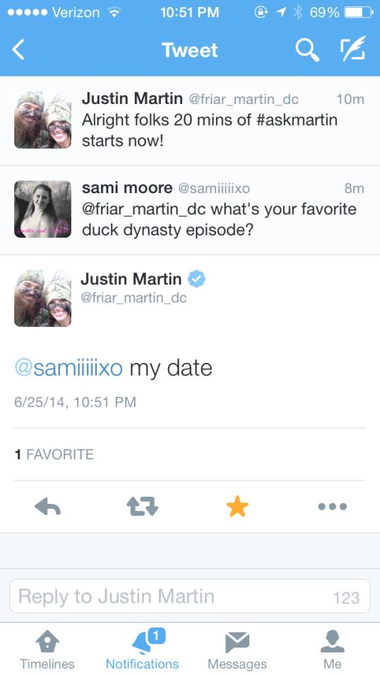 martin tweet