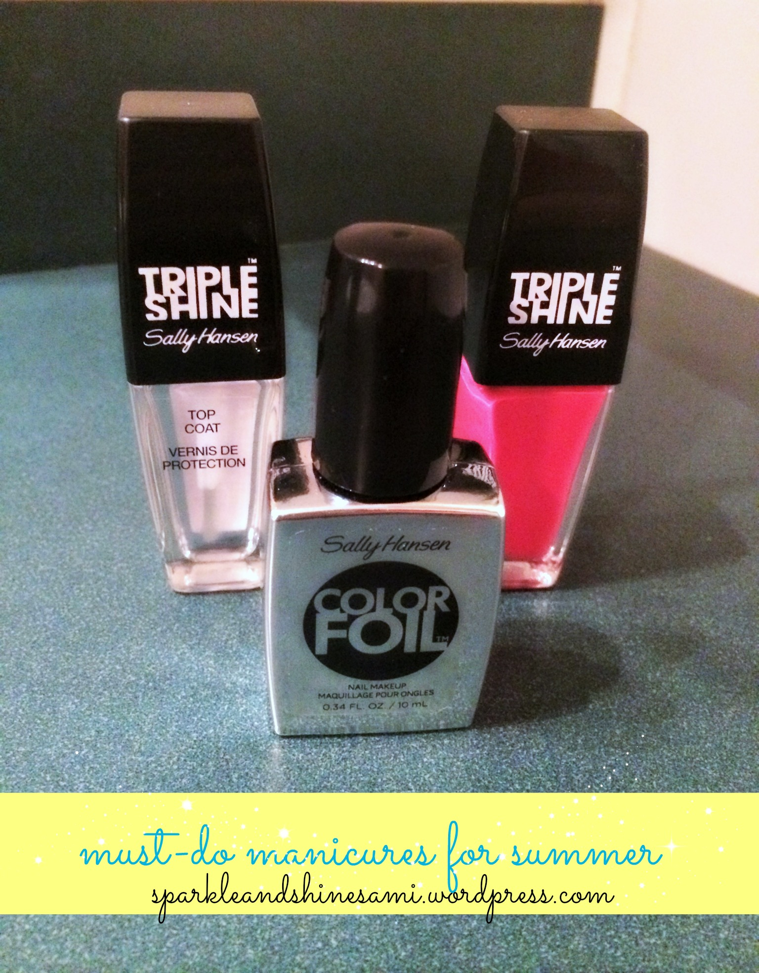 nail polish | Sparkle and Shine