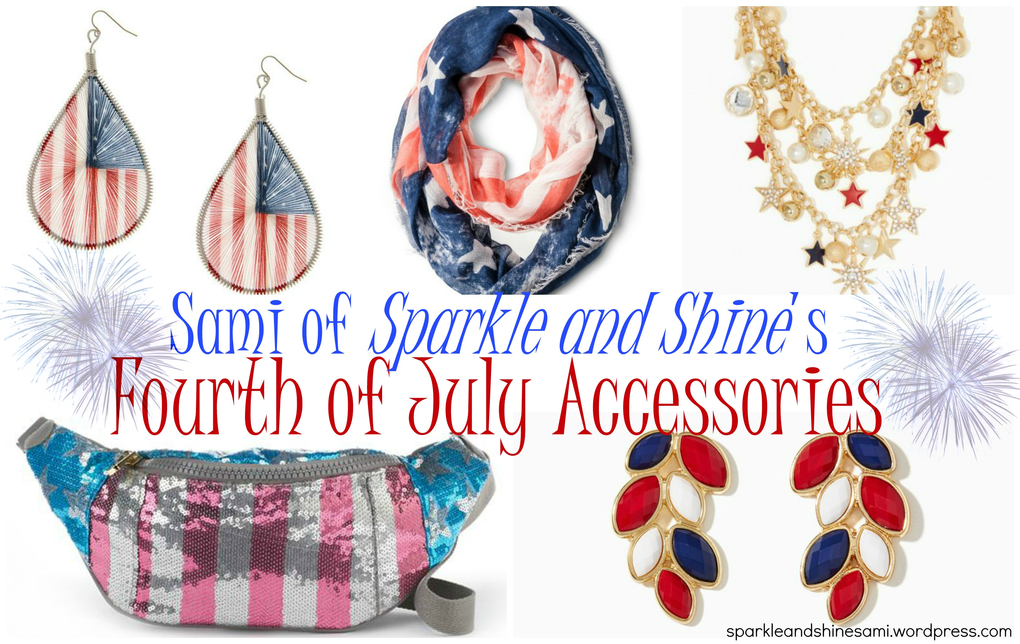 Must Have Fourth Of July Accessories Sparkle And Shine