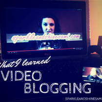 What I learned from video blogging